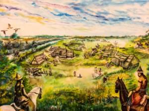 Honfoglalás kori falu rekonstruckció
