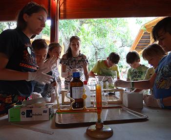A biológia és a kémia csodálatos világa - kísérletező ökotábor Csiki Pihenokert