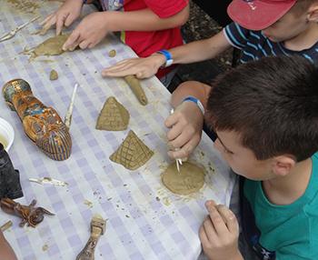 A fáraó gyermekei - egyiptomi mesetábor a Csiki Pihenokertben