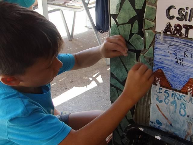 Csiki art művészeti műhely festészeti tábor a Csiki Pihenőketben