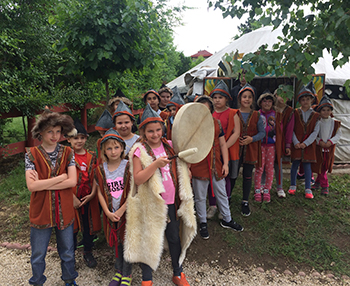 Csodaszarvas nyomában - honfoglalás-kori hagyományőrző tábor Csiki Pihenokert