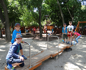 Játék határok nélkül - számháború és csapatjáték tábor Csiki Pihenokert 2