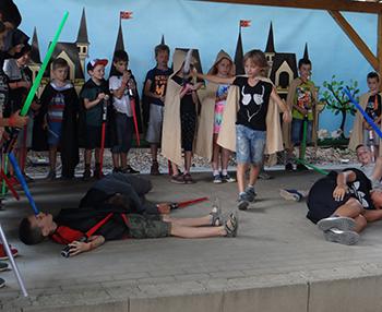 Jedi képzo nyari tabor a Csiki Pihenokertben