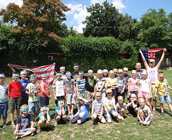 Lazuljunk végre! - vakáció köszöntő szabadidős csapatjáték tábor a Csiki Pihenokertben