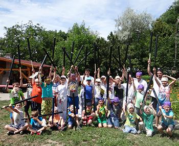 Legyél Te is szamuráj! – japán harcművészeti tábor a Csiki Pihenokertben