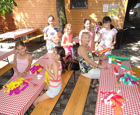 Táncmix studio Csiki Pihenőkert nyári tábor