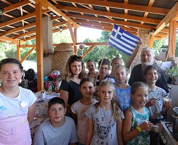 Zeusz Tavernája - görög főző és tánctábor Csiki Pihenokert