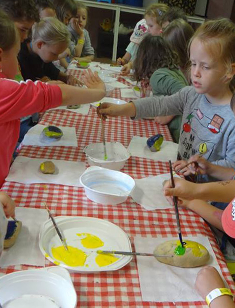 Kreatív Kuckó-művészeti képességfejlesztő tábor ovisokak
