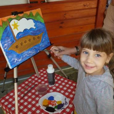 Amikor az olló a gyerek kezébe való- művészeti képességfejlesztő tábor ovisoknak