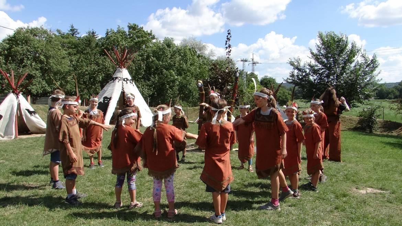 Nagy Medve törzsének gyermekei