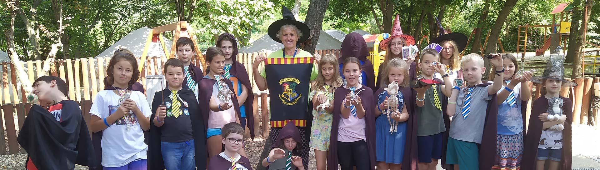 Harry Potter – angol nyelvű varázslótáborok